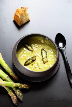 Un dejeuner de soleil: Soupe d'asperges au parmesan                                                                                                                                                                                 Plus