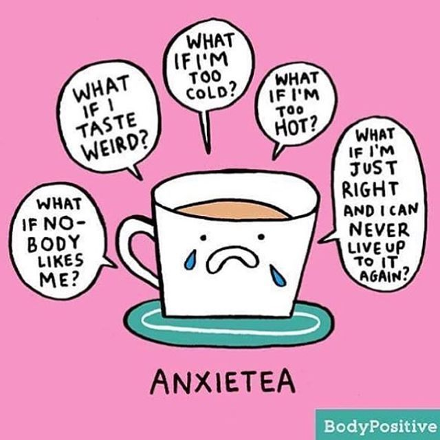 Anxietea? Try Cof-fee instead 😉☕️☕️☕️. @gemmacorrell gosh you make me smile! (Pic cred👈🏻). . BTW - you're awesome. And if you are experiencing anxiety, please reach out to someone. There is help and friendship out there. You don't have to go it alone. 👊
