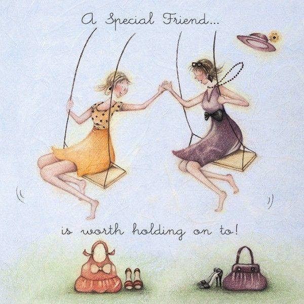 Cards » A Special Friend » A Special Friend - Berni Parker Designs
