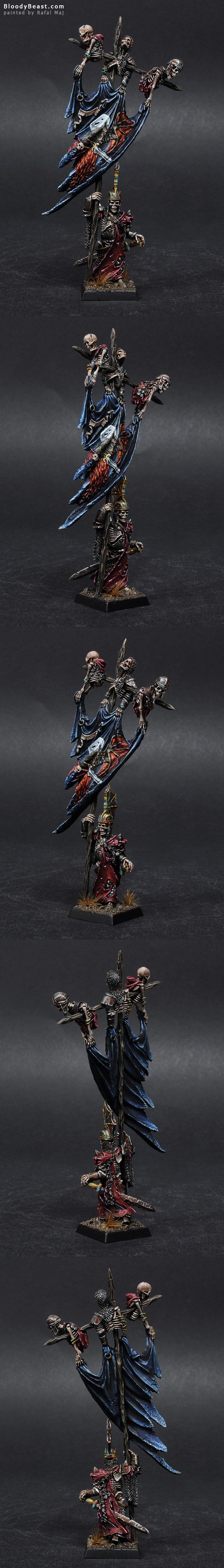 Vampire Counts Wight King Battle Standard Bearer
