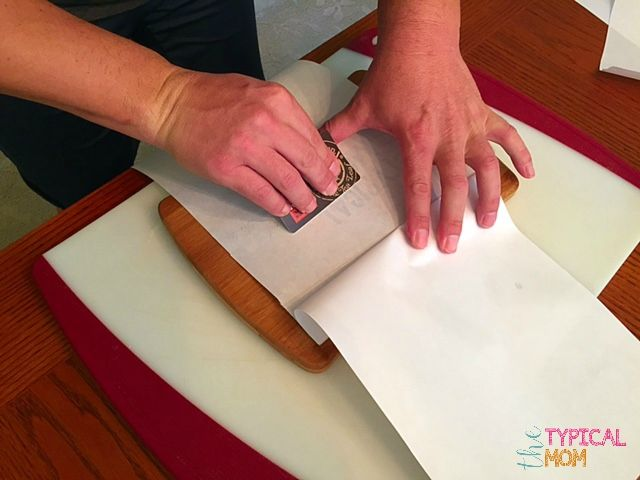 How to transfer an image on to wood or fabric using freezer paper.