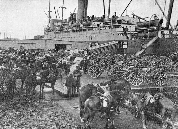 Embarquement a Quebec en 1914 (Première Guerre Mondiale)