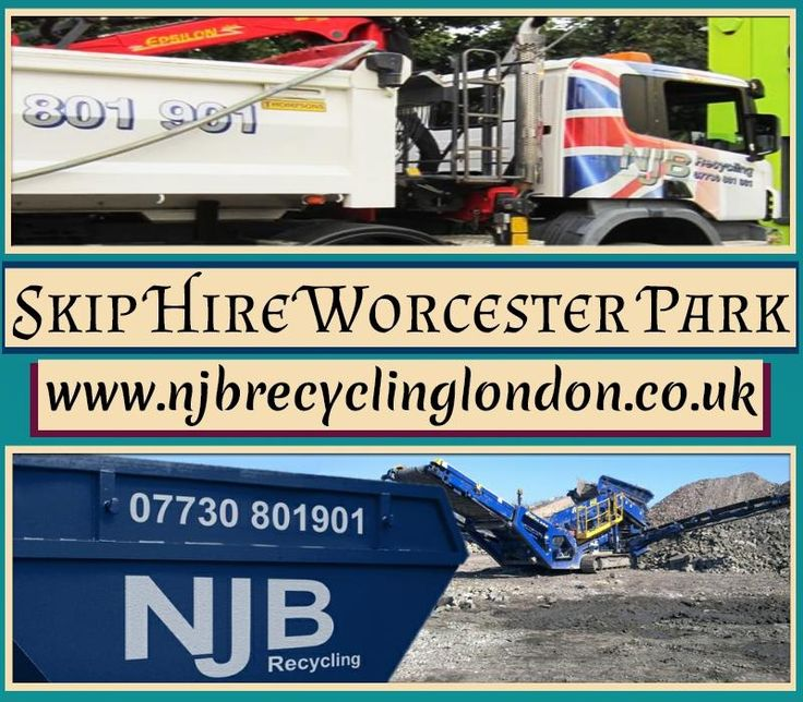 For more information simply visit at: http://www.njbrecyclinglondon.co.uk/skip_hire_worcester_park.html