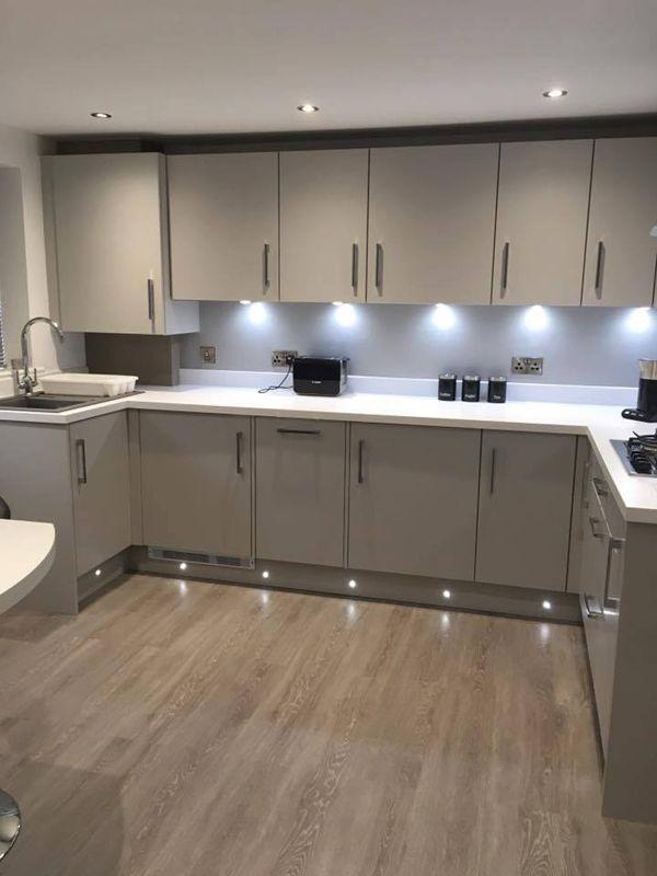 Lighting Around The Skirting Kitchen Furniture Design