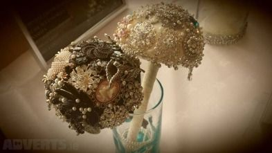 Vintage Brooch Bouquet Mini lot Stunning one of a kind heirloom