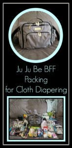Ju Ju Be BFF- Packing for Cloth Diapering – ZonaMom