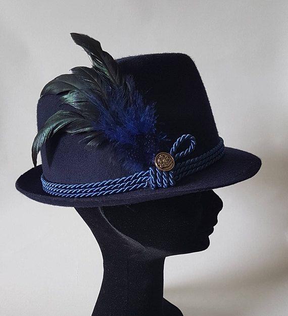 Sombrero fedora mujer: Sombrero de fieltro  Borsalino mujer