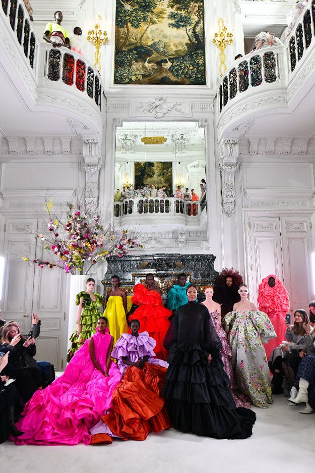 The Latest in Haute Couture from Paris