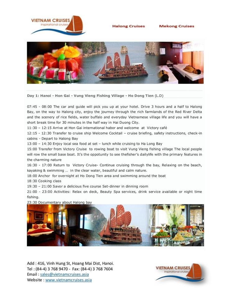 victory-star-cruise-03days by Vietnam Cruises via Slideshare