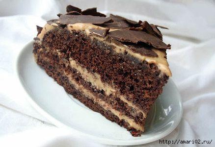 """Шоколадный торт """"Мокко"""""""