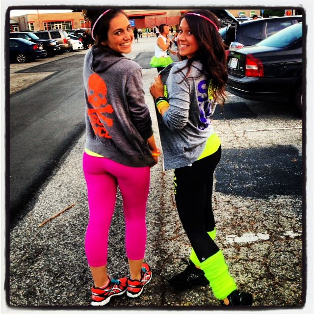 Workout Wednesday... I totally went to a Rave Run. Electric Run 2013 #rave #5K #run #electricrun #exercisebuddy #fitness #exercise