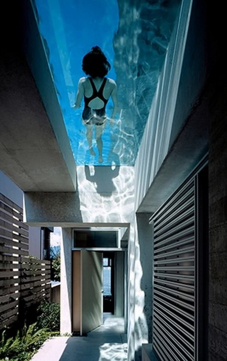Rooftop Pool! Shaw House / Patkau Architects