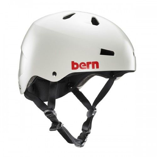 Bern - Macon EPS Satin Light Grey Skate Helmet