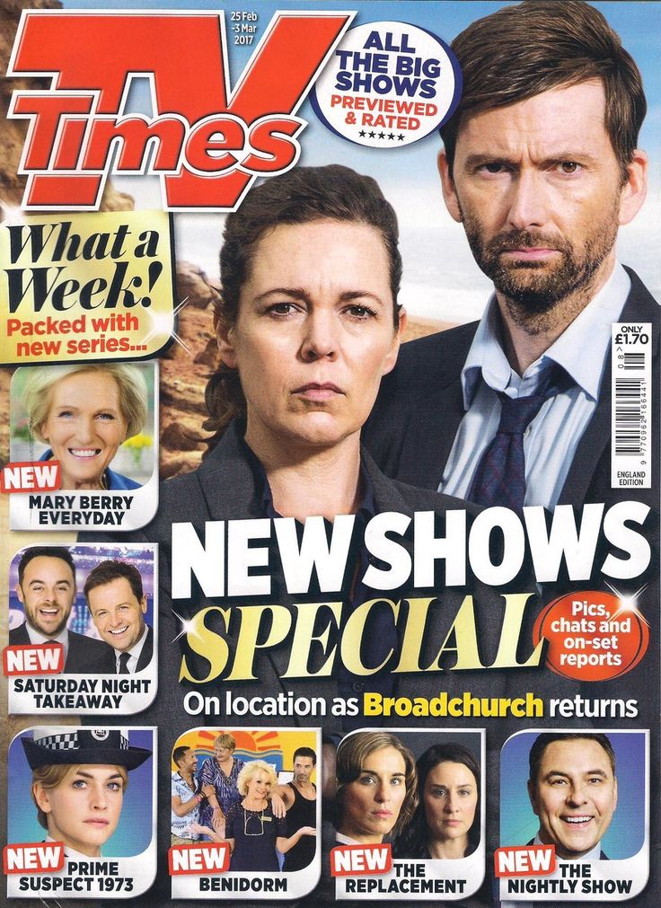 #Broadchurch 3 - Miller and Hardy featured on TV Times (UK)