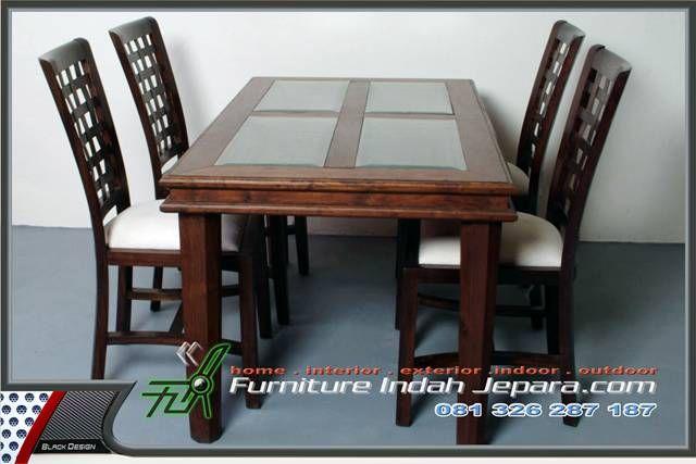 Set Kursi Makan Balero Kepang-Furniture Indah Jepara-FIJ-KMM-008