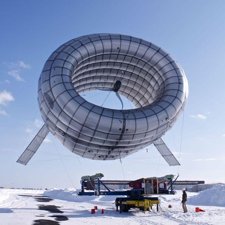 Une éolienne BAT en phase de test en Alaska. Source: Altaeros Energy