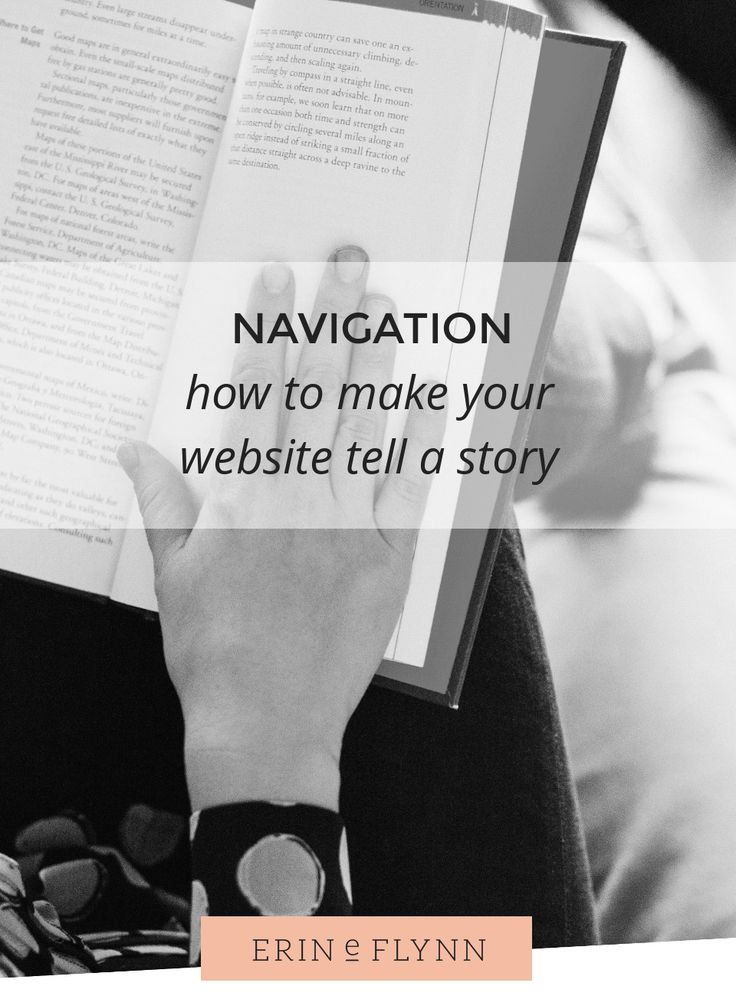 How to make your website tell a story