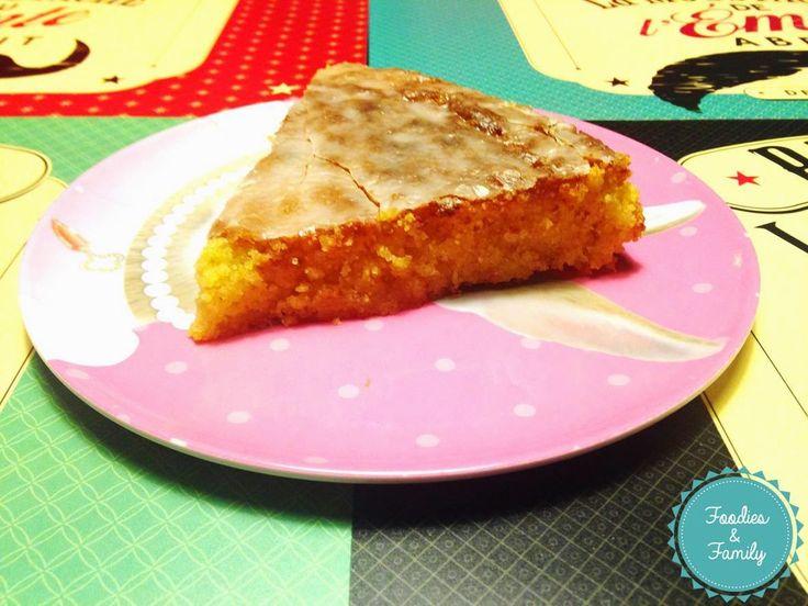 Foodies and family: Le gâteau au citron sans gluten....tellement bon!!...