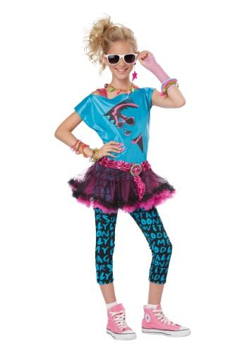This Tween 80s Valley Girl Costume is a fun way to travel back in time. If you just want to have fun this Halloween, this is your costume!......... Can u help me on this one its for macky.... 10/12 size will work