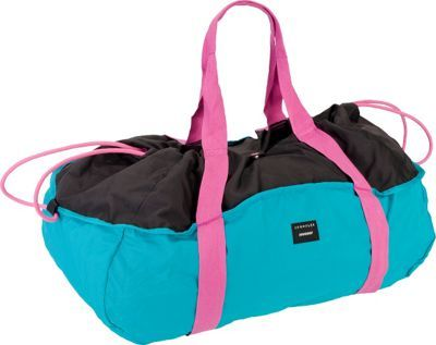 Crumpler The Peak Season Stowable Duffel Bag Teal/black/hot pink - via eBags.com!