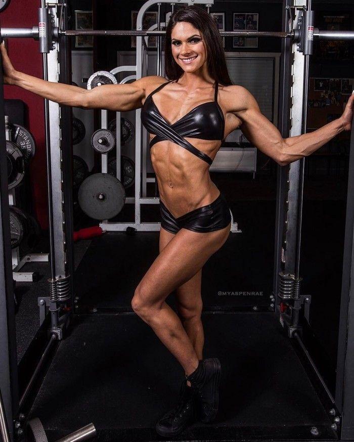 Aspen Rae Aspen Rae Aspen Rae Fitness Model Muscle Women