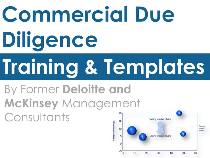 15 best Commercial Due Diligence Template, Checklist \ Report - training report