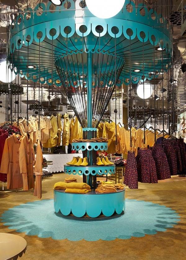 Monki store in Sweden by Electric Dreams