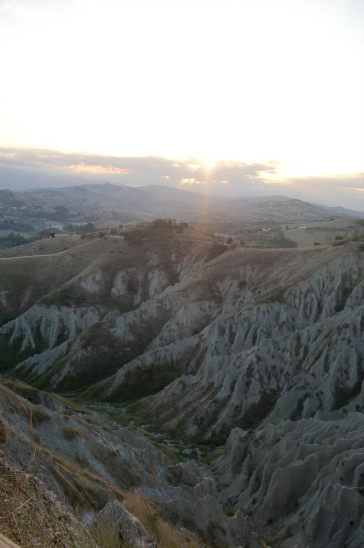 I Calanchi di Atri (TE) - Abruzzo - Italy