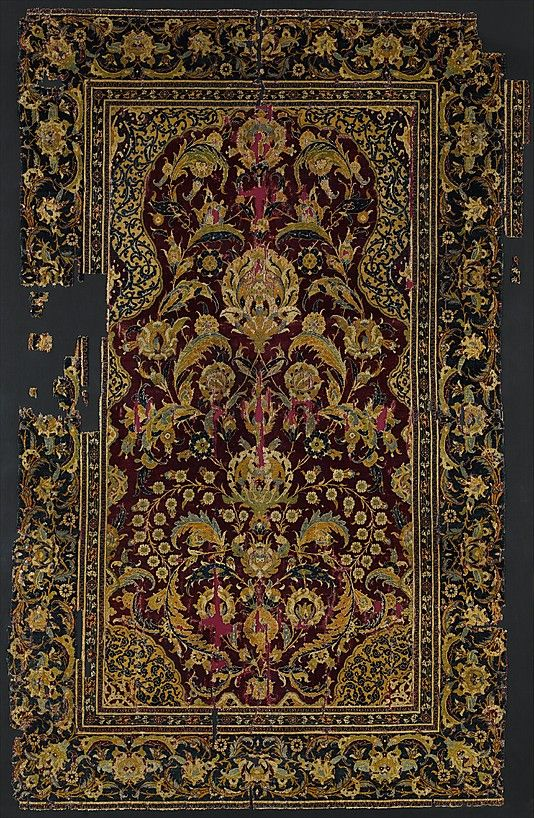 Prayer Rug Object Name Carpet Date Late 16th Century