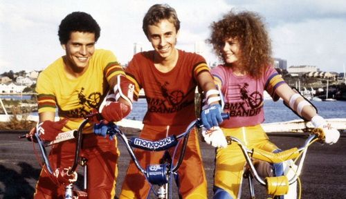 BMX BANDITS: At some point in the 80s, bmx bikes became the coolest f-ing things on the planet. Movies like BMX Bandits (starring a very young Nicole Kidman) and Rad were the most popular things at the video rental and every kid wanted a BMX bike. Having an imported Mongoose or BMX was the height of street cred.