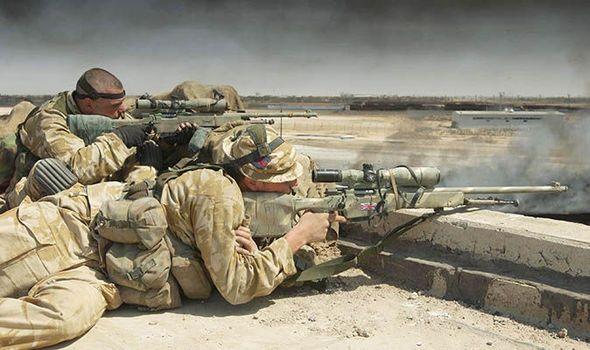 SAS sniper ISIS Iraq Mosul kids suicide mission