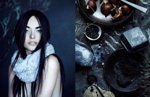 Anna Williams - The Voracity - The Snow Woman - amazing beauty shot