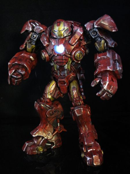 iron man hulkbuster action figure | Hulk Buster Iron Man Movie Style (Iron Man) Custom Action Figure