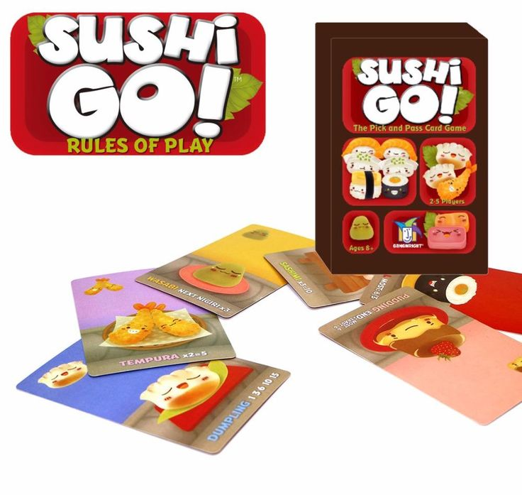 [Visit to Buy] English sushi go the pick and pass card game board game high quality  family game #Advertisement