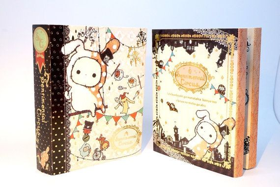 Kawaii SENTIMENTAL CIRCUS Japan mini book by MyChildhoodDream