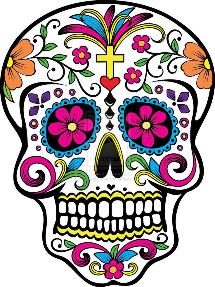 Dia de los Muertos super cute suger skull. Description from pinterest.com. I searched for this on bing.com/images