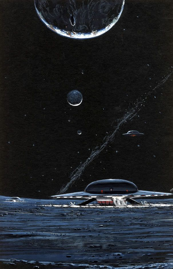 Illustration #10 by Peter George Elson  Planet Cruiser C-15D
