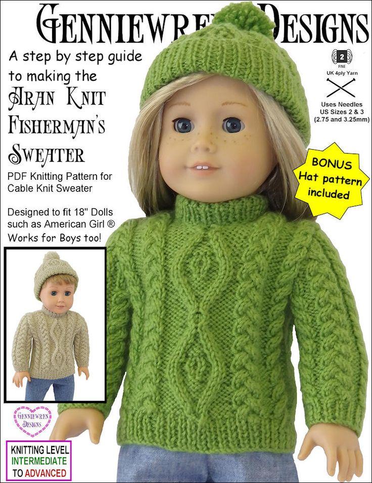 71 Best American Girl Knitting Patterns Images On Pinterest Doll