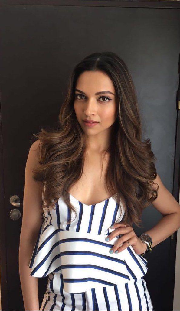Deepika's look for a Tissot event