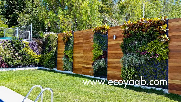 17 mejores ideas sobre muros verdes en pinterest muros - Jardines verticales exterior ...
