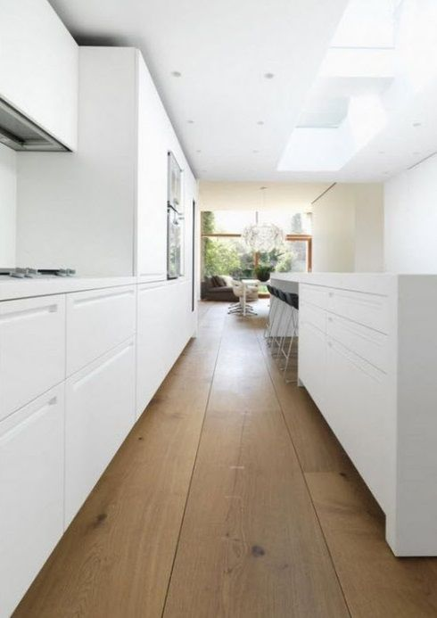 White wash pine floor boards