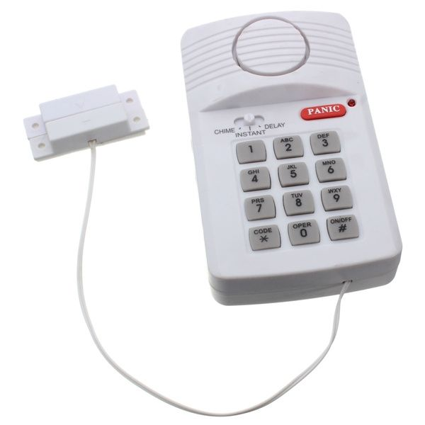 4.79$  Watch here - http://ali9le.shopchina.info/go.php?t=32463580319 - Brand New High Quality Security Keypad Door Alarm System With Panic Button For Home Shed Garage Caravan  #buychinaproducts