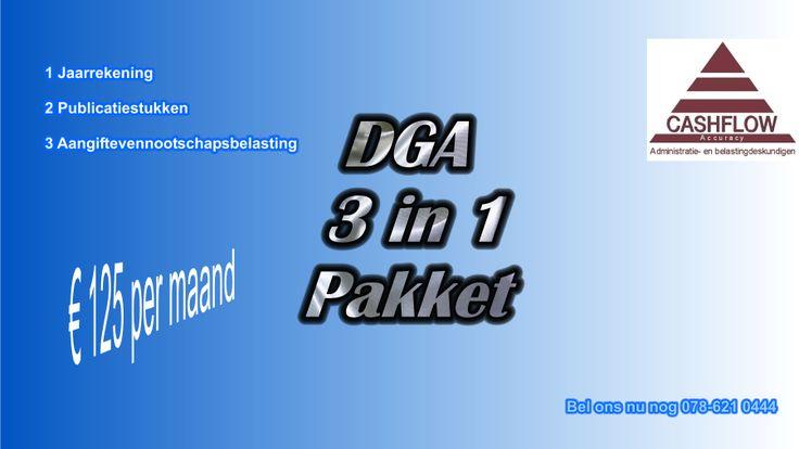 DGA PAKKET 3 in 1