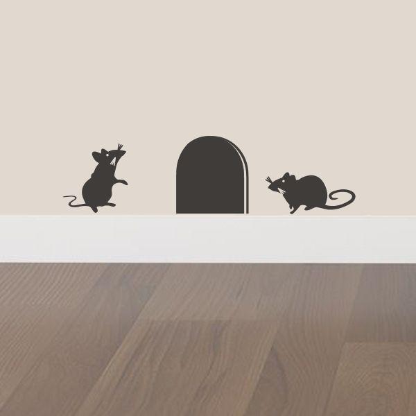 Mice Wall Sticker #wallsticker
