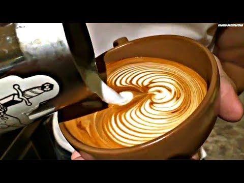 MESMERIZING Barista Latte Art Training Compilation! Very Satisfying
