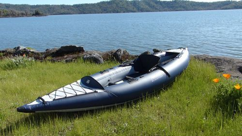 Product Review: AquaGlide Blackfoot Angler SL Inflatable Fishing Kayak | AirKayaks.com