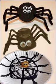 Pyssel: Halloween spindel