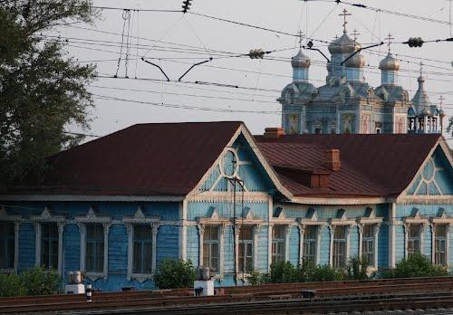 """Shilka, Zabaykalsky Krai, Russia     51° 51' 26.30"""" N  116° 2' 6.08"""" E"""