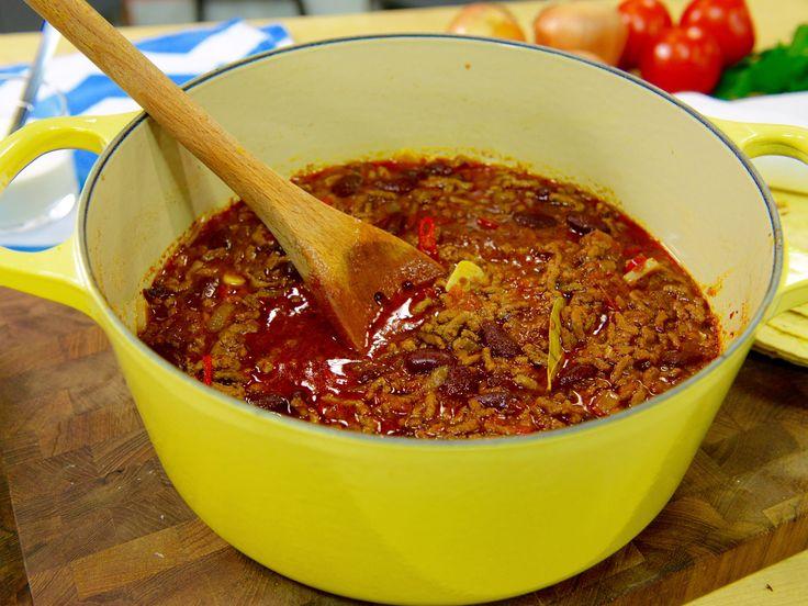 Chili con carne à la Myllymäki   Recept från Köket.se