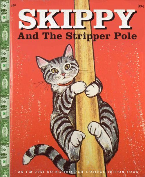 Bob Staake - Skippy and The stripper pole